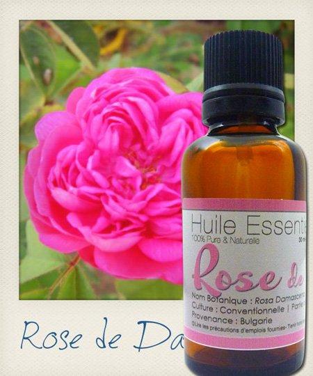 Huile Essentielle de Rose de Damas