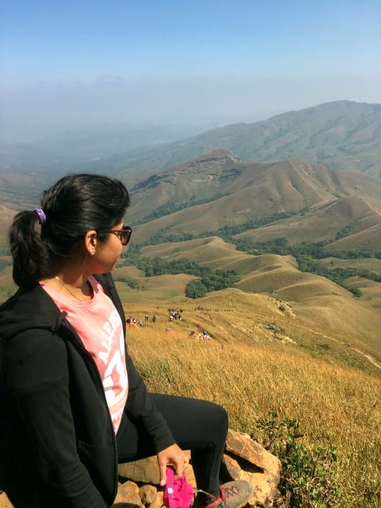 Finally Making it to the top - A Wonderful Experience and much recommended one is Kudremukh