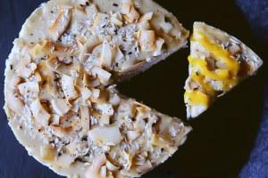 """Der """"Coconut Overkill"""": eine Tropische Kokos Torte"""