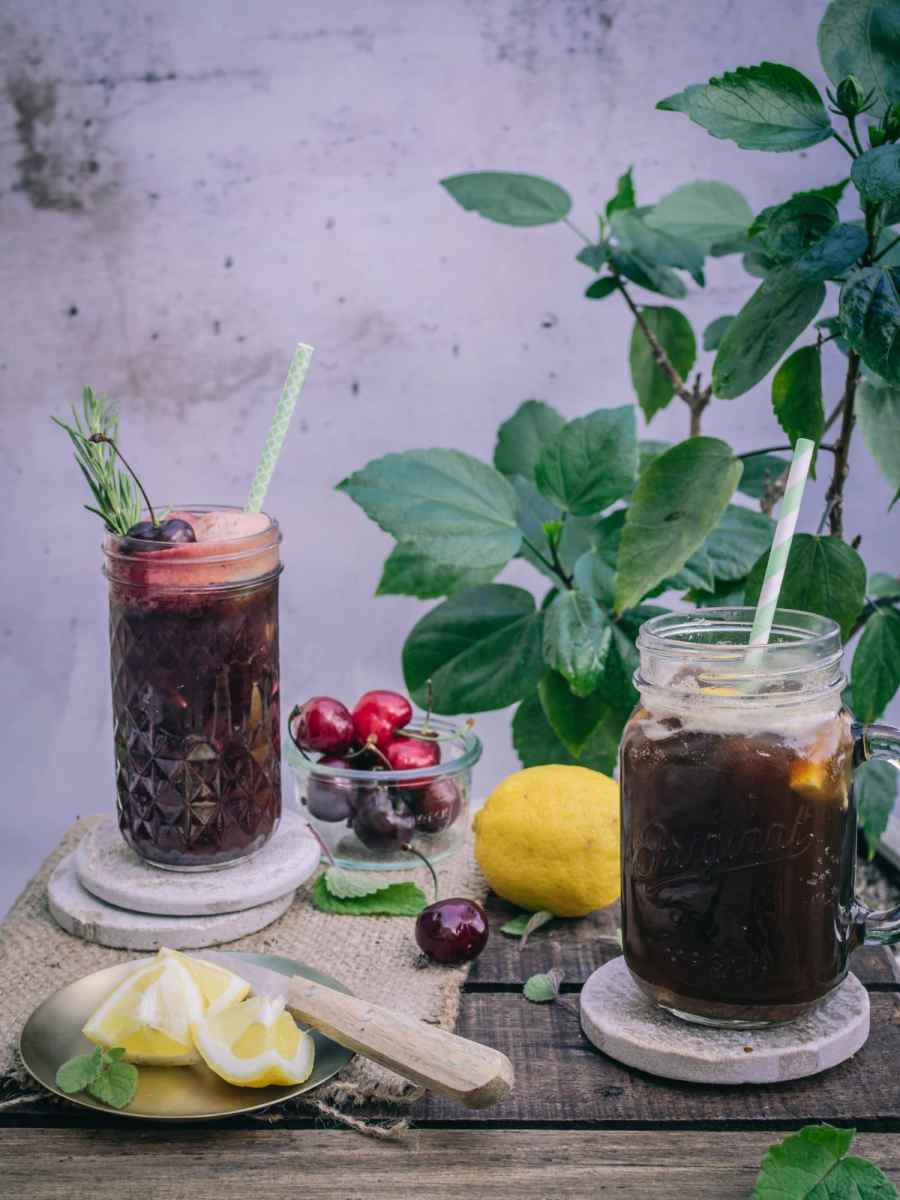 Mehr als kalter Kaffee: Kaffeelemonad. Schwedische Kaffee Limonade.
