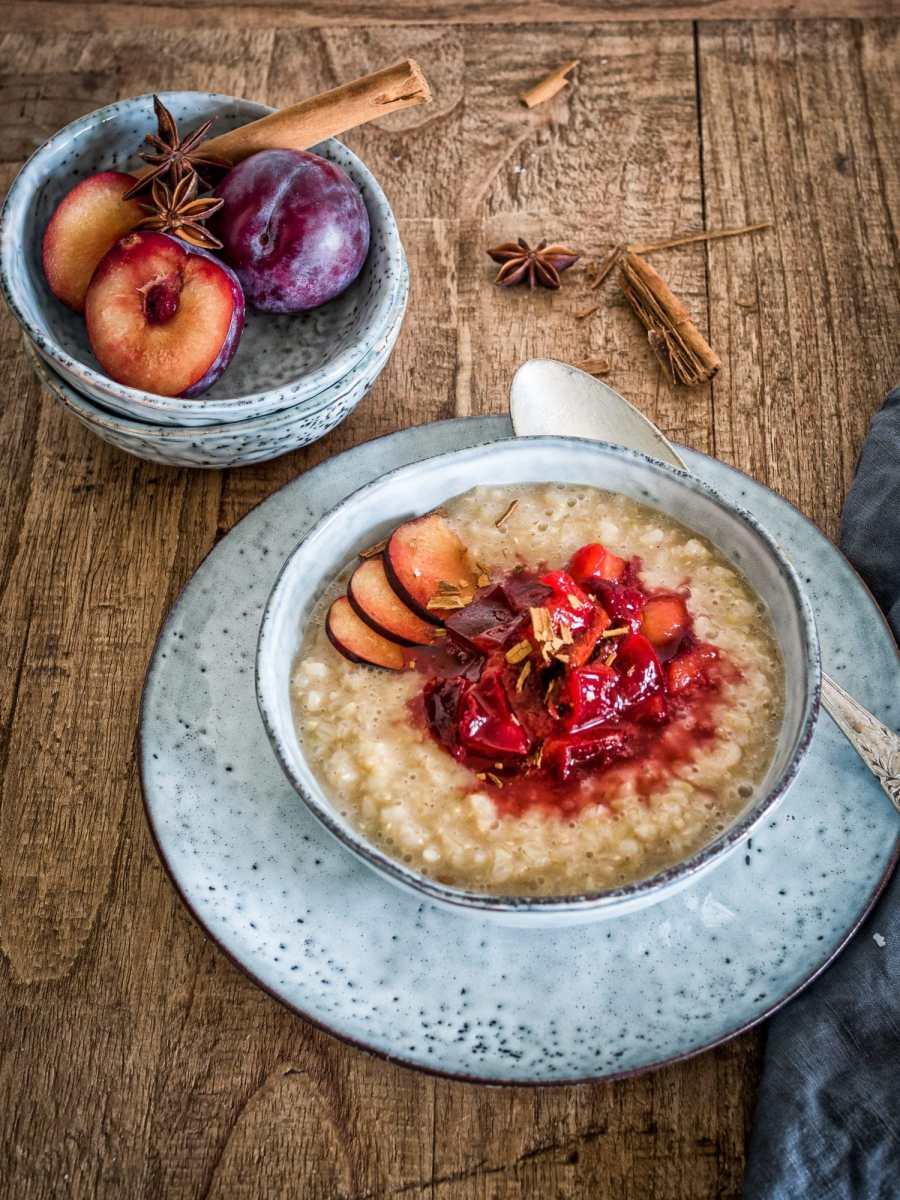Anti Stress Ayurveda Porridge mit Pukka Herbs