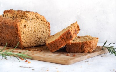 Rosemary Garlic Beer Bread