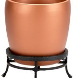 copper plant container