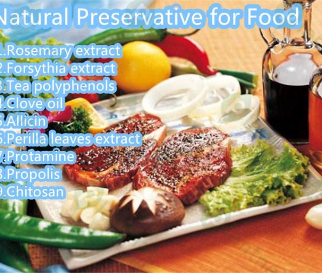 Kinds Of Natural Food Preservatives Plantnat