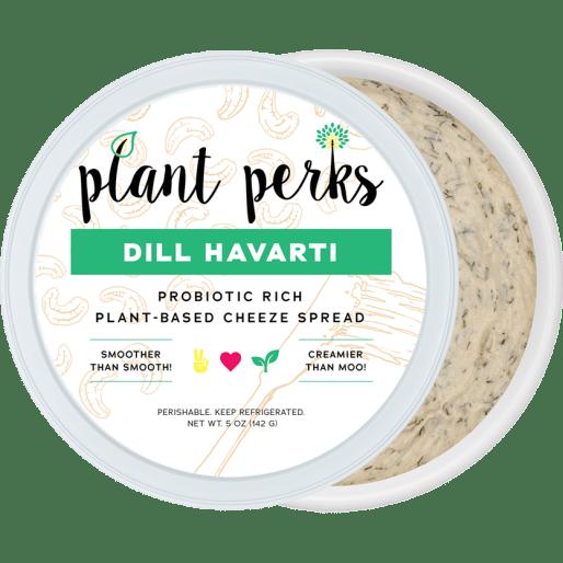 Dill Havarti Vegan Nut Cheeze Cutout