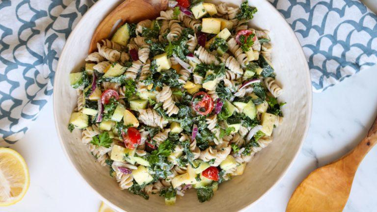 Fresh & Easy Vegan Cold Pasta Salad Recipe