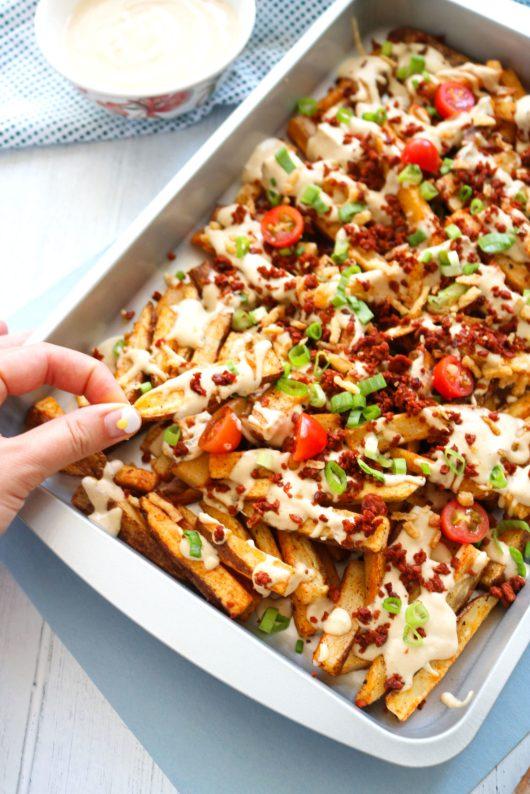 vegan cheeze fries