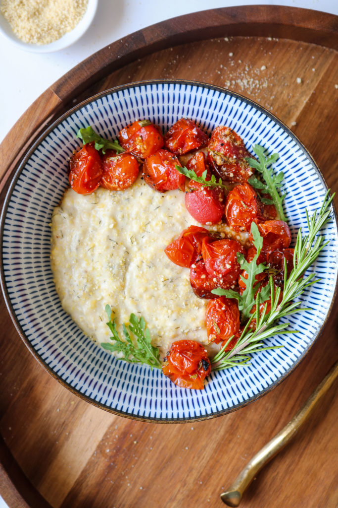Polenta with Roasted Tomatoes