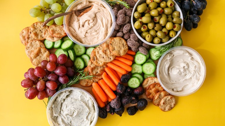 Our Favorite Holiday Party Vegan Cheese Board Setup
