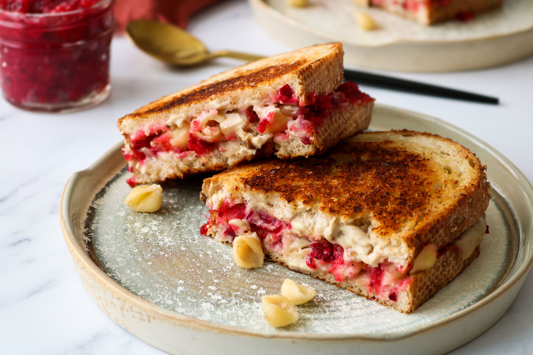 Vegan Thanksgiving (Leftovers) Grilled Cheese Recipe