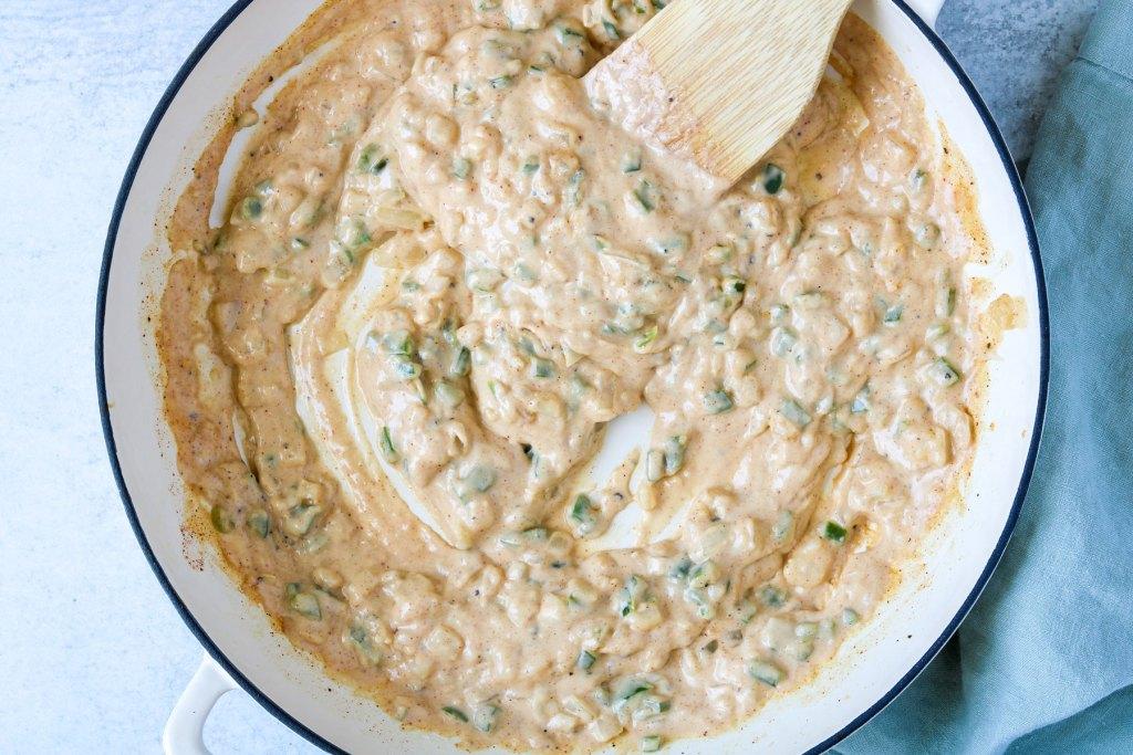vegan jalapeño mac and cheese