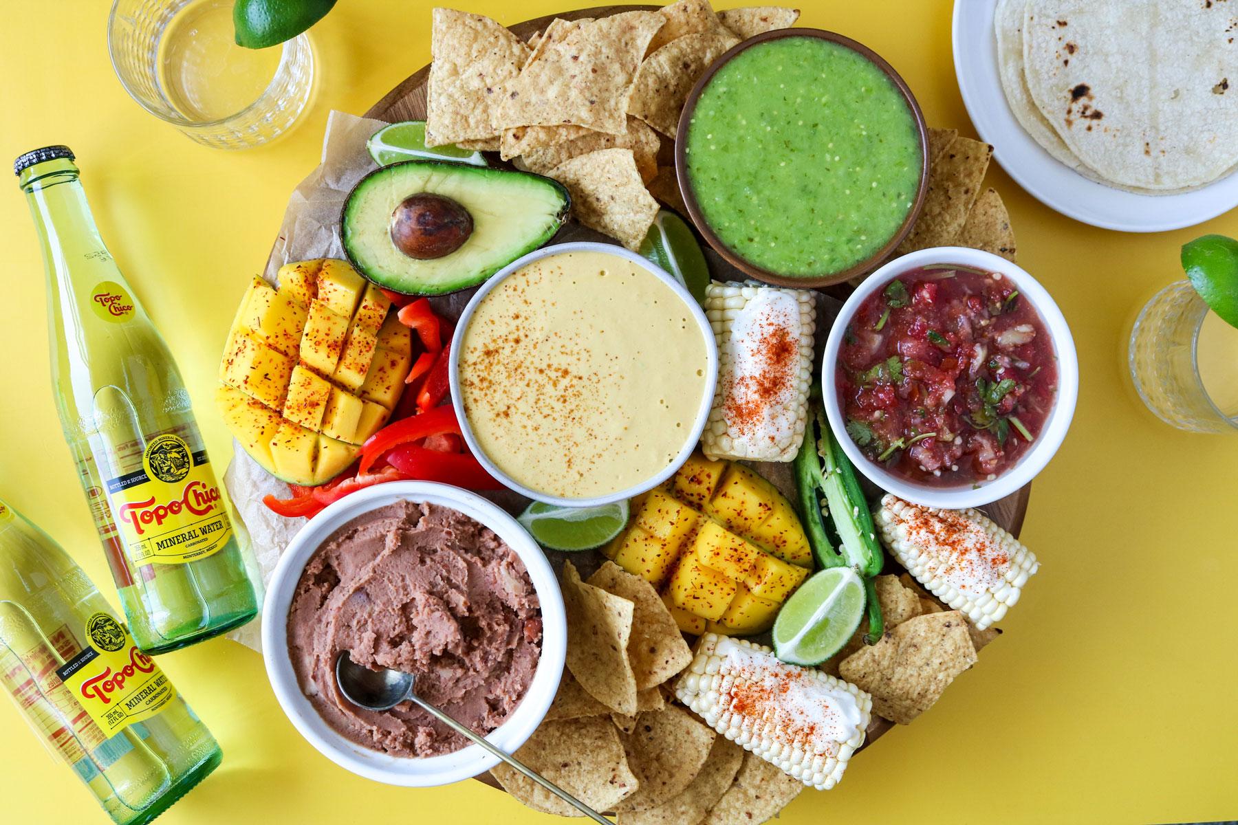 Cinco de Mayo Vegan Snack Board Recipe
