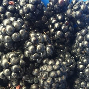 Low Sugar Blackberry Jam-PlantPoweredMama.net