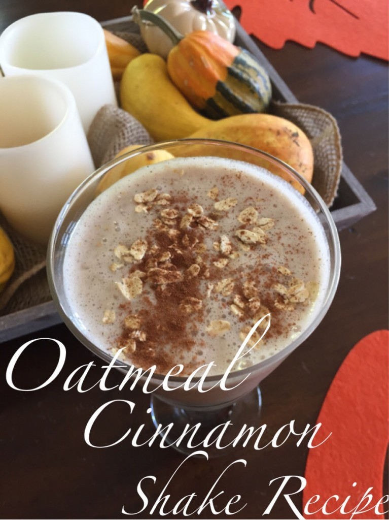 oatmeal cinnamon shake
