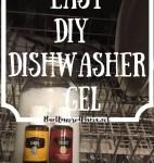 Easy DIY Dishwaser Gel