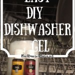 Easy DIY Dishwaser Gel
