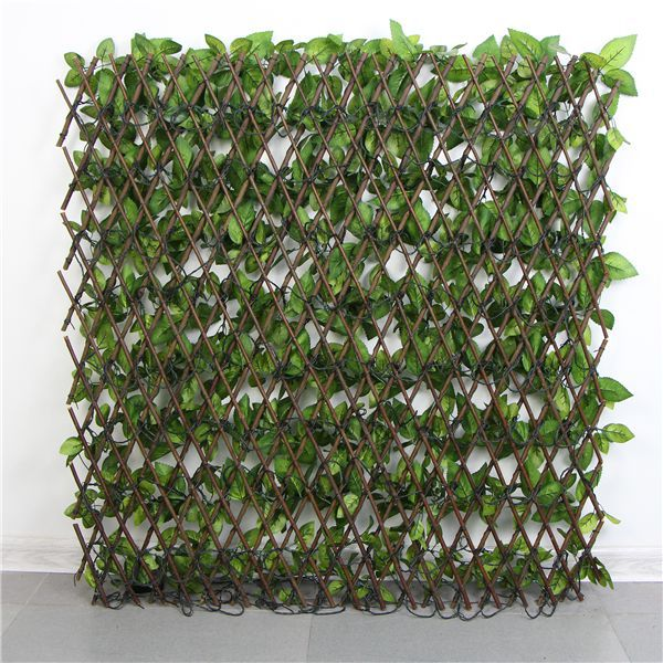expandable artificial silk trellis