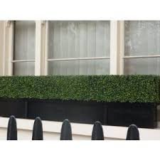 artificial boxwood planter for the window