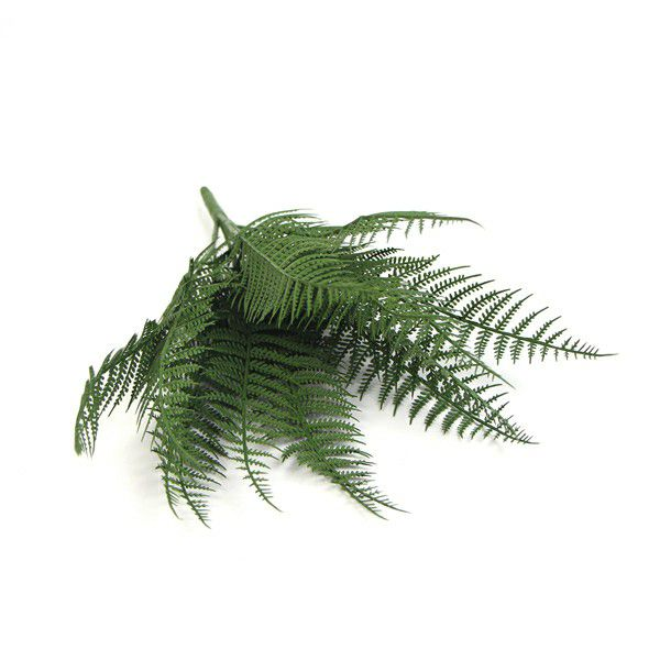 artificial leaves fern
