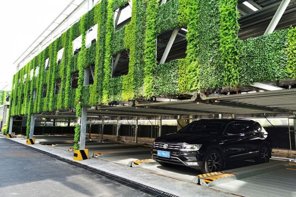 artificial plant wall for garage
