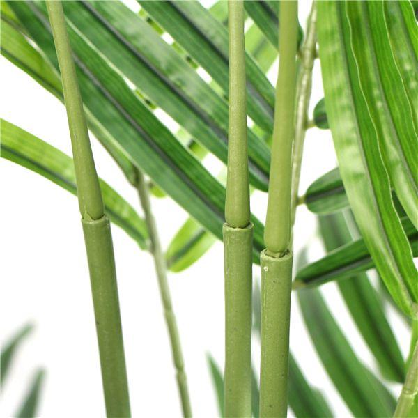 Artificial Tropical Areca Palm detail