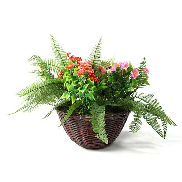 Floral Artificial Plants Hanging with Colorful Daisies HL014 & HL015