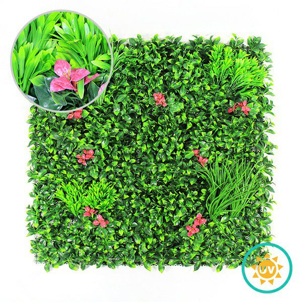 Artificial Garden Wall with Tea Leaves