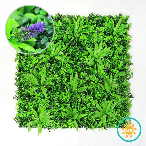 Summer style artificial foliage wall