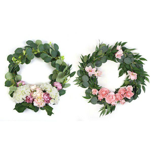 door flower wreaths collection