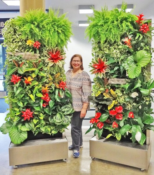 florafelt vertical garden systems Florafelt Recirc Systems | Plants On Walls