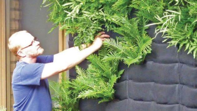 Plants On Walls Floraflet Pockets Vertical Garden by Chris Bribach