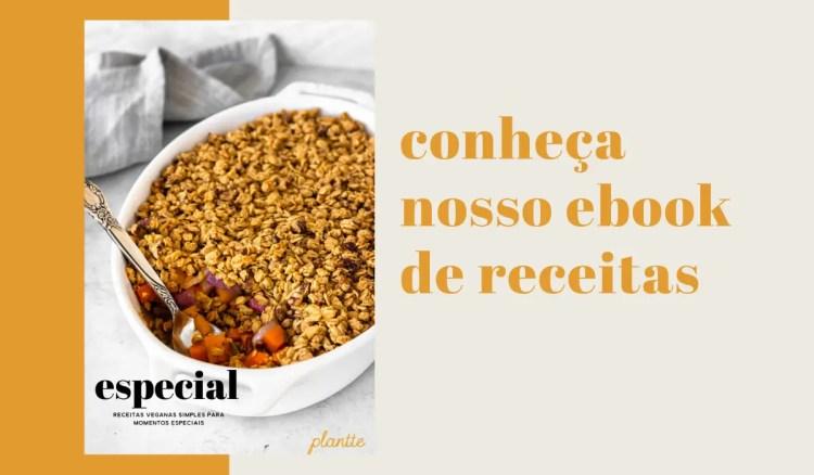 ebook de receitas veganas do Plantte