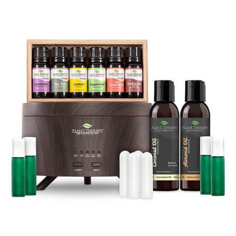 Essential Oil Starter Set with Aromafuse Diffuser