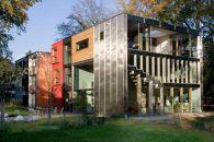 BARCODE – Neubau eines Niedrigenergie- Wohn- & Atelierhauses