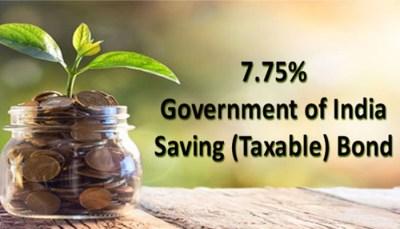 7.75% RBI Bonds (GOI Bonds) Features and Taxability