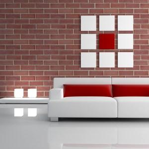 Plaqueta Semimanual Roja Arenosa 24×7,5x1cm