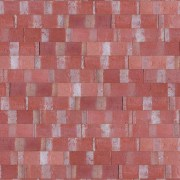 Plaqueta Semimanual Roja Rústica 22×6,5×1,5cm Refrentada 1