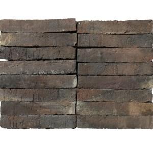 Plaqueta Semimanual Klinker Rústica 24x4x1,5cm