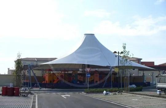 PVC-Abdeckung Spielplatz