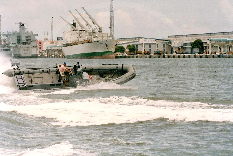 10 mt. Semi-rigid craft Norfolk navy base