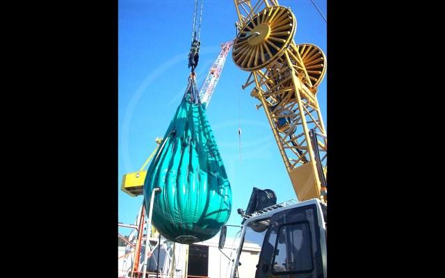 ballon pour tests hydrauliques de 15 tonnes