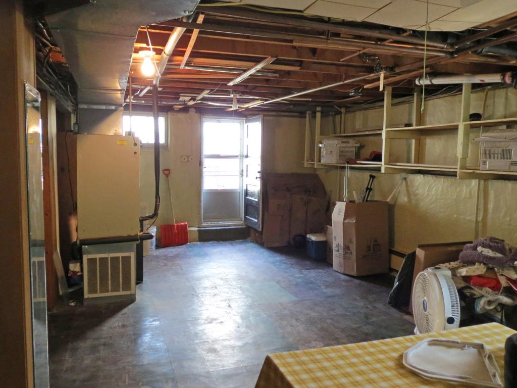 Basement -- Plaster & Disaster
