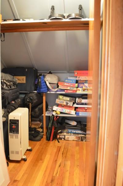 Game closet -- Plaster & Disaster