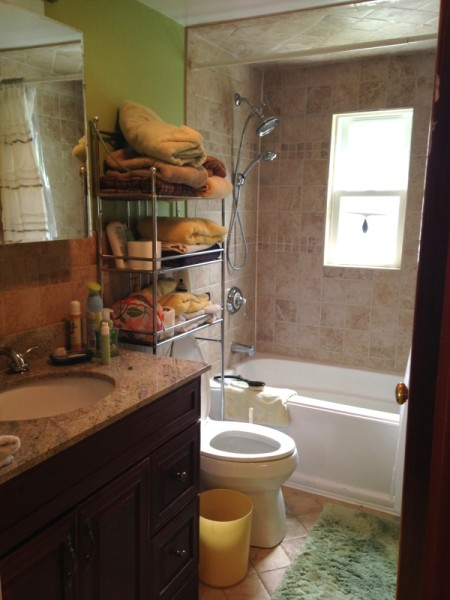 Sage's house bathroom before