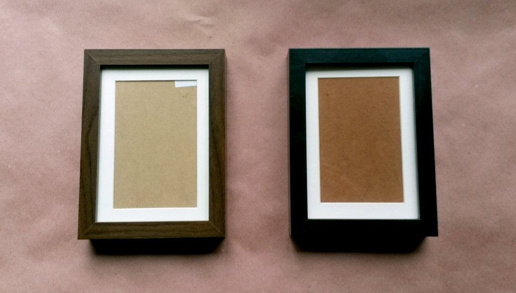 Cheap IKEA Ribba Frame Update – Plaster & Disaster