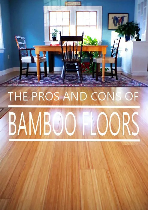 Pros and Cons of Bamboo Floors - Plaster & Disaster