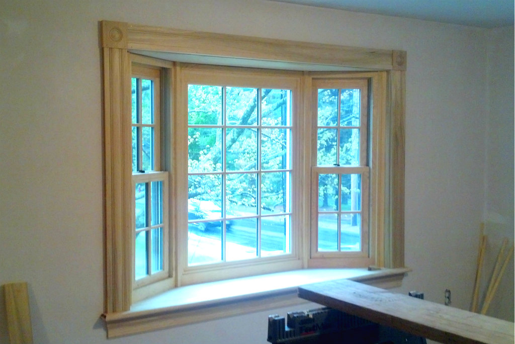 Renovation for open space and light - dining room bay window - Plaster & Disaster