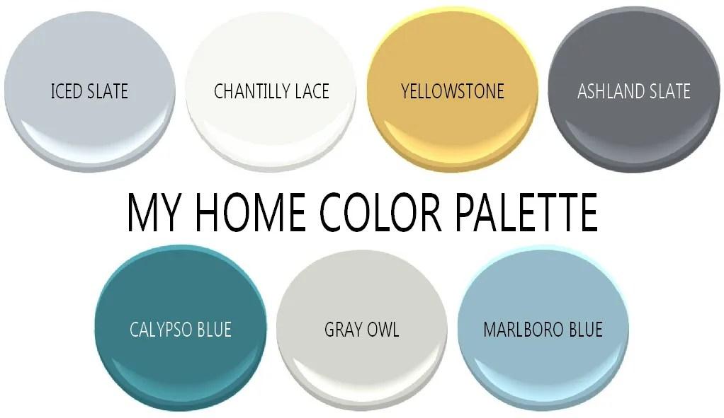 Home color palette - Plaster & Disaster