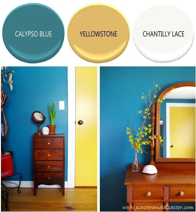 Home color palette - the dressing room - Plaster & Disaster