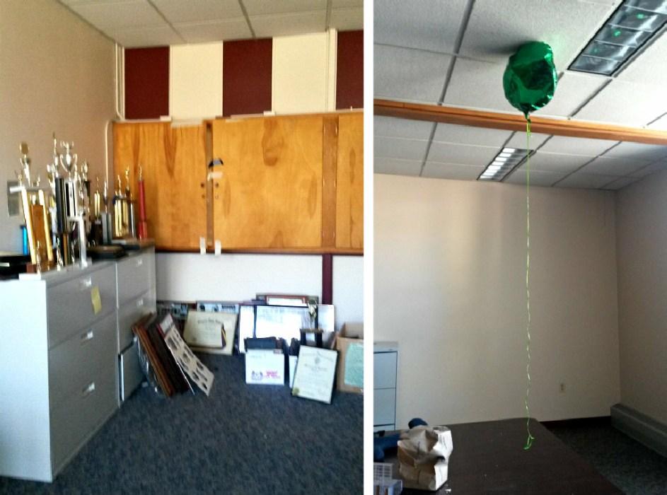 Pillaging a School - sad trophy room - Plaster & Disaster